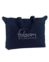 100% Cotton Canvas Zippered Tote (BE009R)