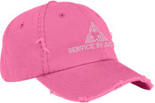 Unstructured Distressed Twill Cap (DT600R)